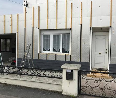 Rénovation de façade par SARL Lemaire & Fils à Béthune (Annezin)