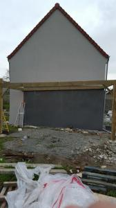 Construction d'un carport à ossature bois par SARL Lemaire & Fils (Béthune)